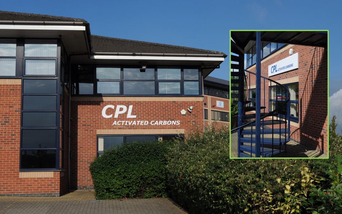 CPL Activated Carbons Wigan HQ following name change in 2018