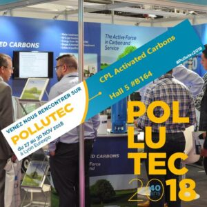 Pollutec 2018 CPL Activated Carbons - Hall 5, Stand B-164