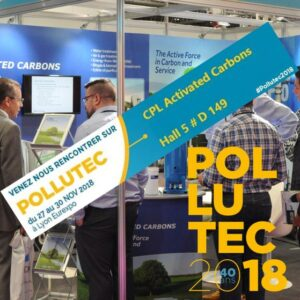 Pollutec 2018 CPL Activated Carbons - Hall 5, D149