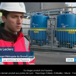 CPL mobile carbon filter vessels at Lyon Biomethane site