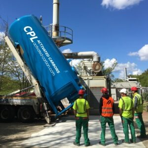 Clean-Flo 30m3 VOCorber for Landfill Gas LFG Purification - CPL Activated Carbons
