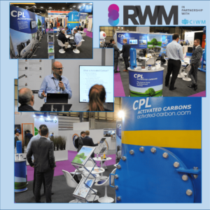 CPL Activated Carbons displayed a Clean-Flo 5m3 VOCSorber mobile carbon filter at RW19.