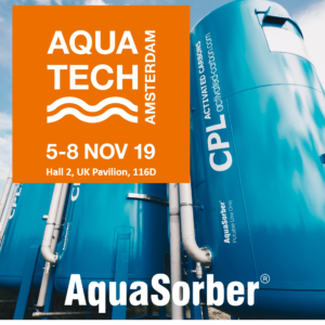 CPL Activated Carbons at Aquatech 2019, Hall 2 UK Pavilion, Stand 116D