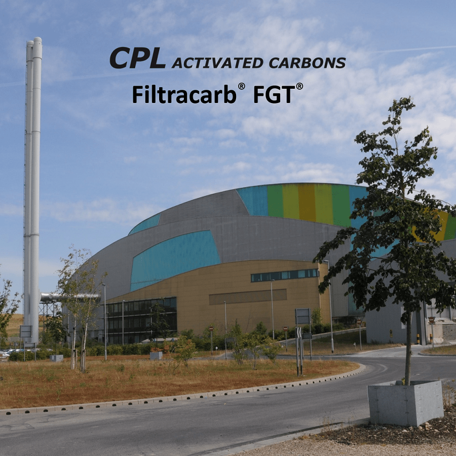 EfW Flue Gas Treatment with Filtracarb FGT PAC