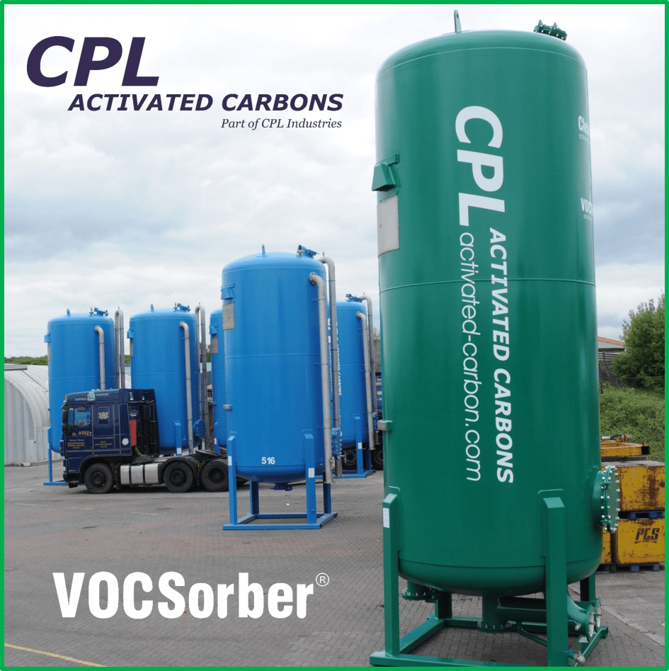 30m3 VOCSorber from CPL Activated Carbon s for biogas purification