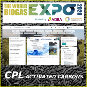 CPL Activated Carbons at the World Biogas Expo 2020