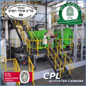 CPL Activated Carbons achieves Halal and Kosher Accreditation for its Regen-Sys Spent Carbon Reactivation Process